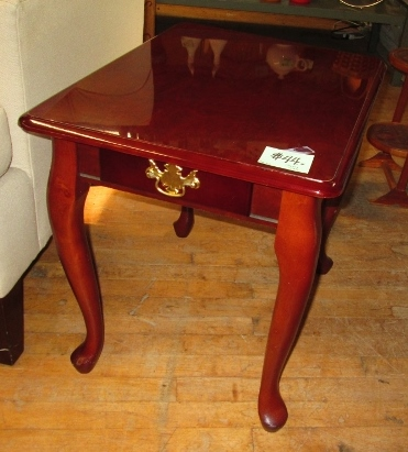 Cherry End Table w/ Drawer