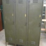 Vintage Durand Steel Lockers