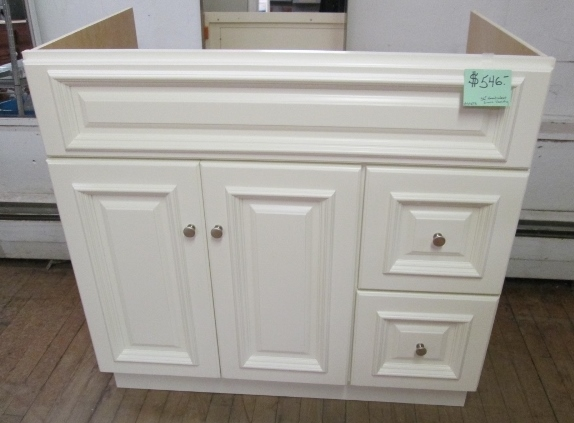 """New"" 36"" Nantucket Linen Vanity"
